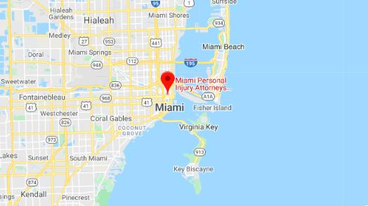 Personal injury attorney Miami - Google Maps